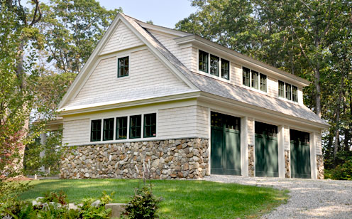 Robert reed associates new construction carriage house for Carriage house garages