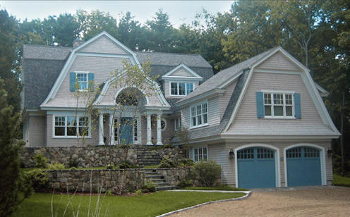 Shingle style gambrel house plans home design and style for Gambrel house designs